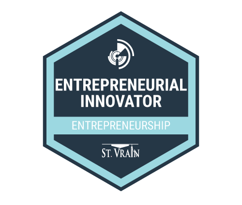 Entrepreneurial Innovator Badge ICon