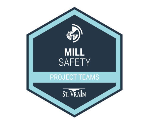 Mill Safety Badge Icon