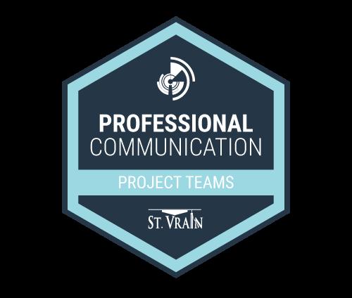 professional communication badge icon
